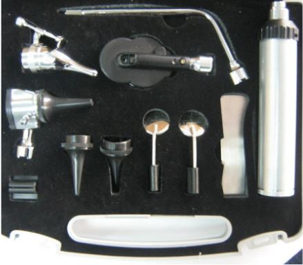 Diagnostic Set Universal Blue White Case and Bulbs