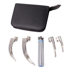 4-blade-laryngoscope-set
