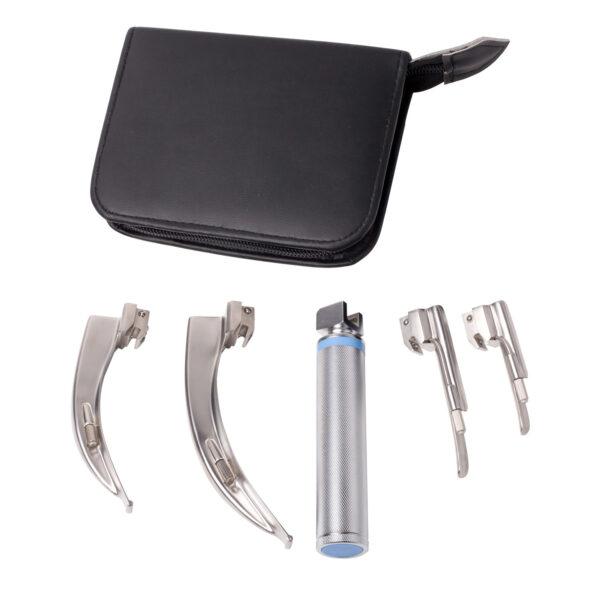 4-blade-laryngoscope-set
