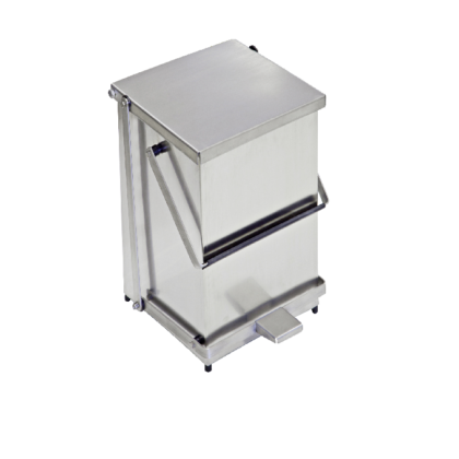 Stainless Steel Pedal Bin with Carry Handle 20L