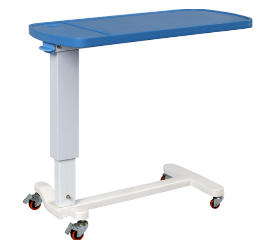 Height Adjustable Overbed Table ABS Top