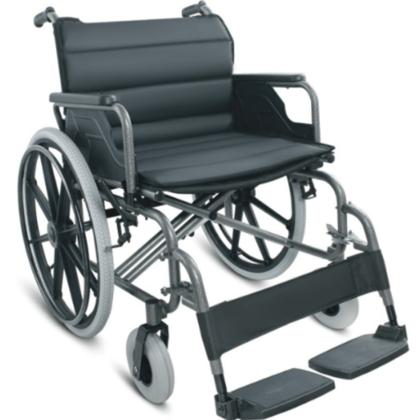 Wheelchair Steel Flip Arm Detach Foot 56cm/XHD 125kg (FS951B-56 )