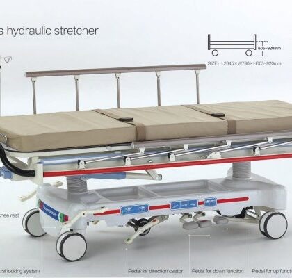 Patient Stretcher Hydraulic with Trendelenburg